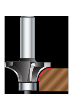 4 flute cornor round bit