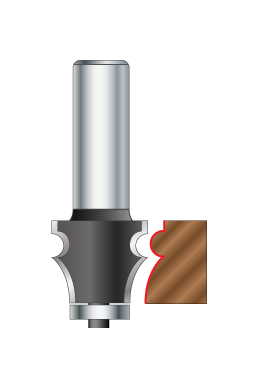 Drawing line Router Bits
