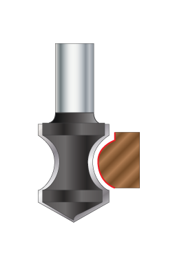 Hand Grip Plunge Router Bits