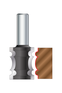 Reed Edge Router Bits