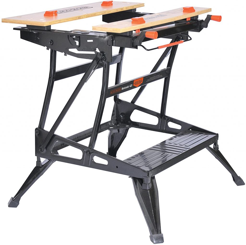 black decker portable workbench
