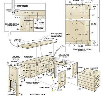 16,000 Furniture Craft Plans